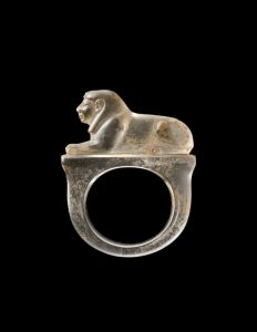 Ring with a sphinx (1295–1069 BC), Egyptian, 19th–20th Dynasty. Phoenix Ancient Art ($750,000)