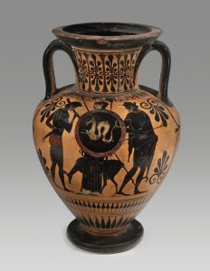 Greek Urn, Phoenix Ancient Art, ca. 550-500 BCE